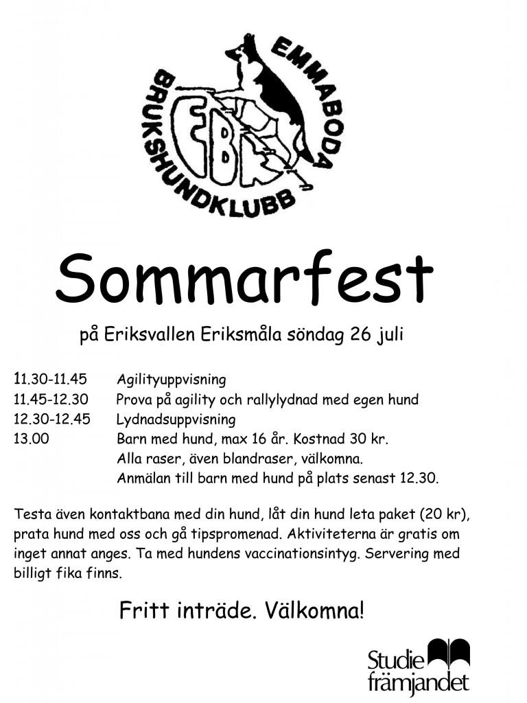 Sommarfest 2015